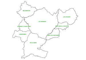 carte Pays des Herbiers