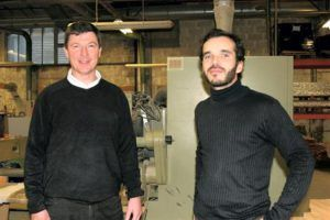 Paul Malignac (à droite) est le directeur d'Espace Loggia