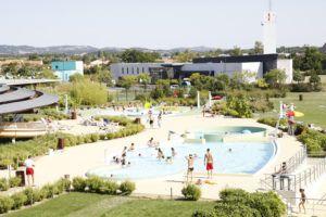 piscine cap vert